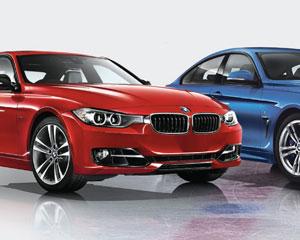 Annonces des séries BMW durant les séries