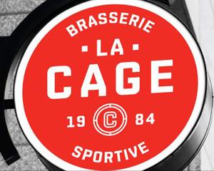 Site et menu de La Cage